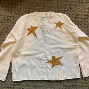 Made well star knit sweater